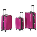 INVIDA 4w Trolley NEW YORK  mit TSA-Schloss PINK in...