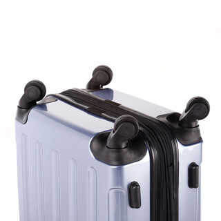 INVIDA 4w Trolley NEW YORK  mit TSA-Schloss BLAU in LARGE