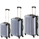 INVIDA 4w Trolley NEW YORK  mit TSA-Schloss BLAU als SET...