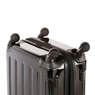 INVIDA 4w Trolley NEW YORK  mit TSA-Schloss SCHWARZ in BS