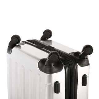 INVIDA 4w Trolley NEW YORK  mit TSA-Schloss SILBER in LARGE