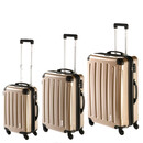 INVIDA 4w Trolley NEW YORK  mit TSA-Schloss GOLD