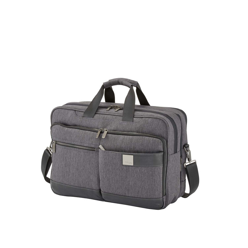 TITAN Power Pack Business Laptoptasche 45 cm MIXED GREY