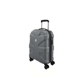 TITAN X2 4 Rollen Koffer Trolley Hartschale mit TSA-Schloss Small in GUNMETALL SHARK