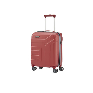 TRAVELITE VECTOR 4 Rollen Koffer Trolley Hartschale KORALLE in SMALL