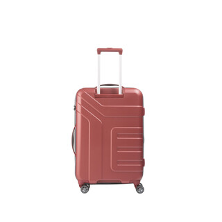 TRAVELITE VECTOR 4 Rollen Koffer Trolley Hartschale KORALLE in MEDIUM
