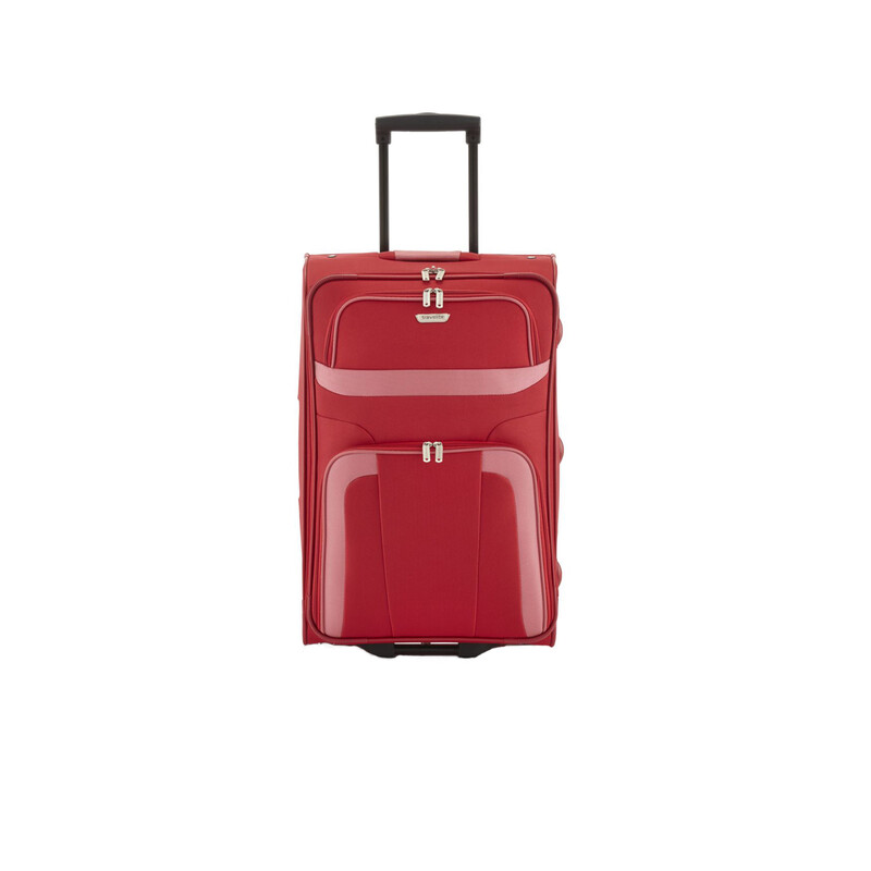 TRAVELITE ORLANDO 2 Rollen Trolley ROT in MEDIUM