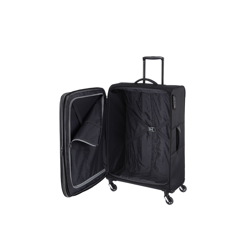 TRAVELITE KITE Trolley SCHWARZ in MEDIUM erw.