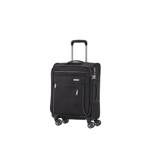 TRAVELITE CAPRI Trolley 4w SCHWARZ in SMALL