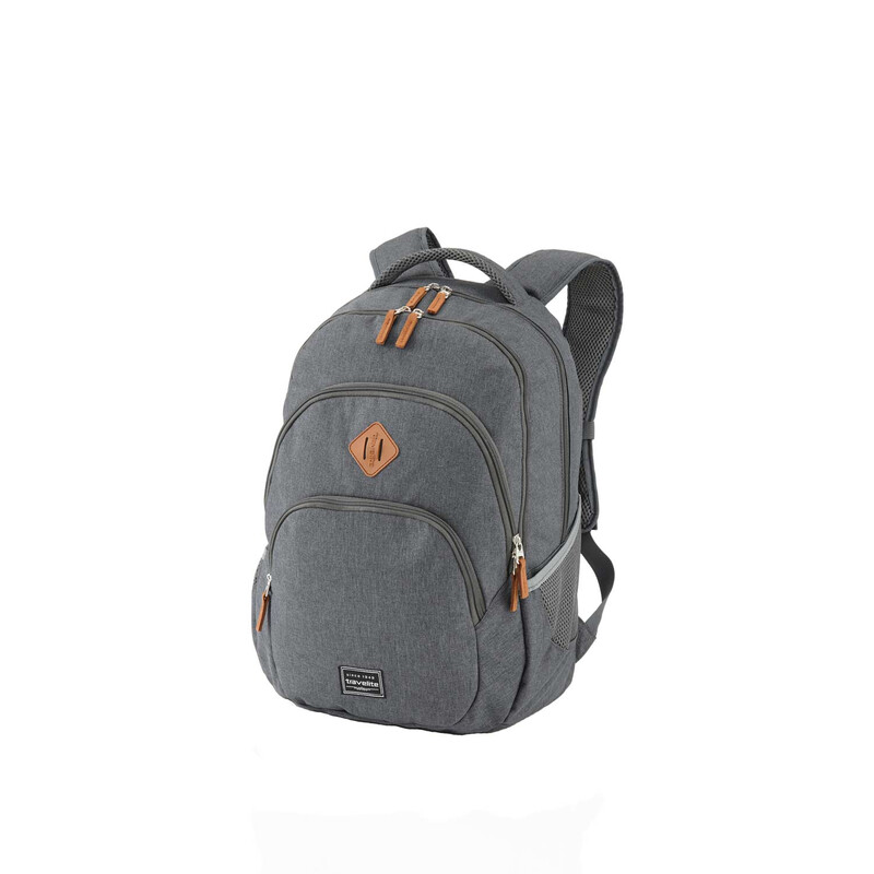 TRAVELITE BASICS Rucksack Melange in ANTHRAZIT