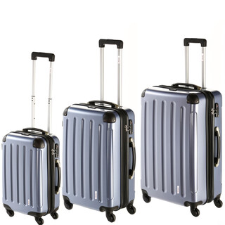 INVIDA Trolley New York Kofferset in Blau