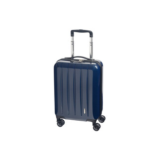CHECK IN LONDON 2.0 Bordtrolley 4w 55cm Carbon-Blau