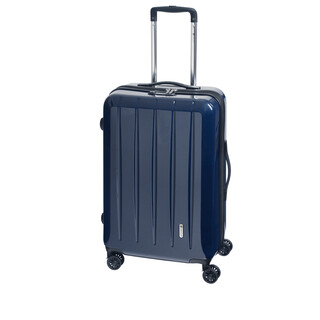 CHECK IN LONDON 2.0 Trolley 4w L 75cm Carbon-Blau