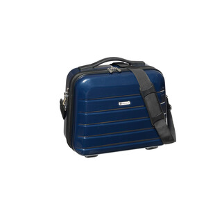 CHECK IN LONDON 2.0 BEAUTYCASE Carbon-Blau