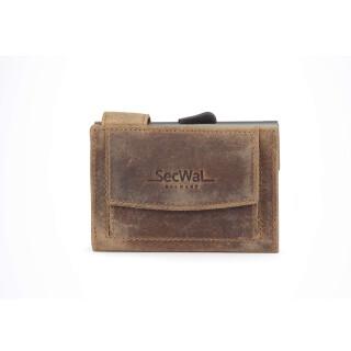 8751bb6225e79 SECWAL Kreditkartenetui RFID Münzfach ...