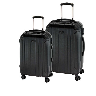 CHECK IN BILBAO Trolley-Set 2tlg M/L Schwarz