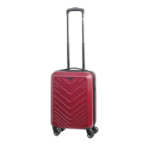 CHECK IN MAILAND Bordtrolley 4w 55cm Rot