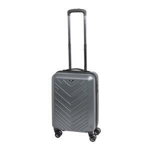 CHECK IN MAILAND Bordtrolley 4w 55cm Silber