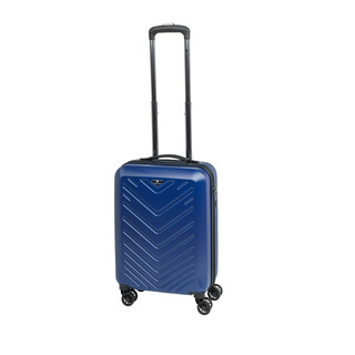 CHECK IN MAILAND Bordtrolley 4w 55cm Blau