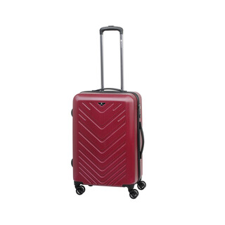 CHECK IN MAILAND Trolley 4w M 67cm Rot