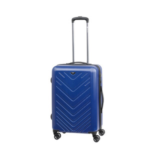 CHECK IN MAILAND Trolley 4w M 67cm Blau