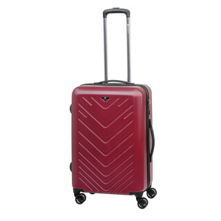 CHECK IN MAILAND Trolley 4w L 75cm Rot