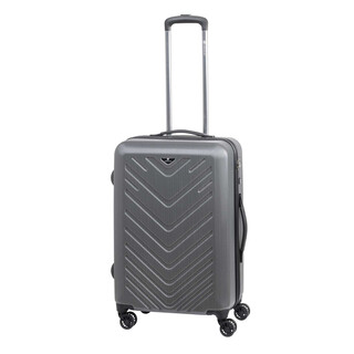 CHECK IN MAILAND Trolley 4w L 75cm Silber