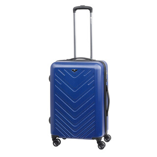 CHECK IN MAILAND Trolley 4w L 75cm Blau