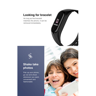 Fitness Smart Telefon Armband M5 Wire Band Tracker Smartwatch Bluetooth Telefonat + Blutdruck Pulsmesser IP67 Wasserdicht BT 4.0 Herzfrequenz