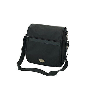 FARE Schultertasche TRAVELMATE Business Messengerbag in SCHWARZ